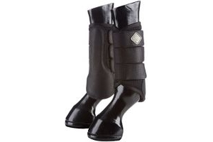 LeMieux Unisex Prosport Mesh Brushing Boots Horse Legwear Black L