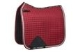 WeatherBeeta Prime Bling Dressage Saddle Pad - Maroon - Full