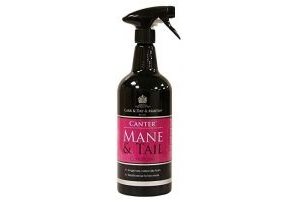 Carr Day and Martin Canter Mane and Tail Conditioner 1L Mane Care 1L Clear