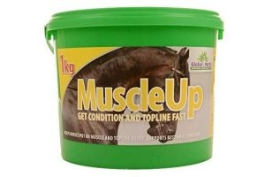 Global Herbs Muscleup 1kg - Clear, 1Kg