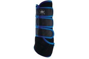 Woof Wear Dressage Wrap Black/Electric Blue Medium