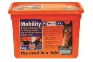 Horslyx Mobility Horse Stable Lick 5 Kg Refills x Size: 4 Bulk Buy