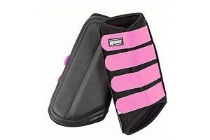 Roma Neoprene Brushing Boots (Cob) (Black/Pink)