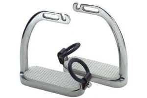 Shires Fillis Peacock Safety Stirrup Irons 4.25 Steel