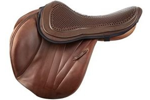 Acavallo Unisex's Brown Gel Out Seat Saver Large