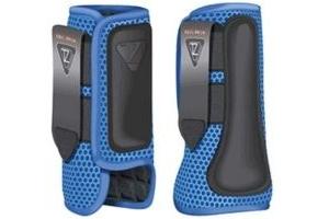 equilibrium Tri-Zone Impact Sports Boot -Azure Blue-Medium-Front