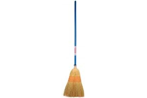 Faulks Corn Broom Large Blue