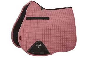 LeMieux Unisex's ProSport Suede GP Square Saddlepad, Blush Pink, Small/Medium