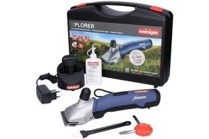 HEINIGER XPLORER HORSE CLIPPER - Cordless Battery Cattle Blade Charger Warranty