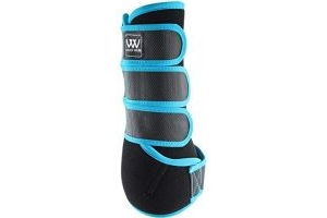 Woof Wear Dressage Wraps Turquoise - Lightweight Breathable