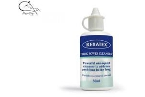 Keratex Powerful Frog Cleanser 50ml Squeezy Bottle FREE P&P
