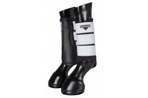 Le Mieux Hi Vis Brushing Boots : Black: Medium