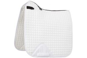 LeMieux ProSport Dressage Square Saddle Pad White