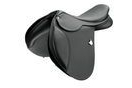 Bates Caprilli Close Contact Saddle With Rear Flexibloc and Cair - Classic Black - 46cm