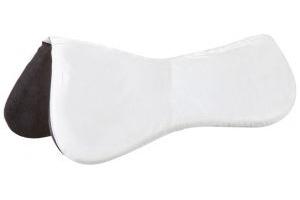 WeatherBeeta Memory Foam Shimmable Half Pad White