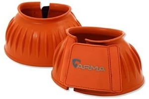 Shires ARMA Touch Close Overreach Boots-Orange Cob
