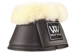 Woof Wear Pro Overreach Sheepskin Boots Black - Professional standard durable 7mm neoprene overreach boot