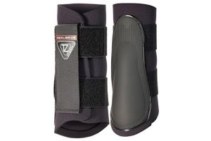 Equilibrium Tri-Zone Brushing Boots - Black, X-Large by Equilibrium Technologies