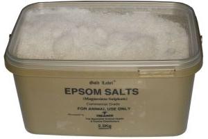 Gold Label Epsom Salts: 2.5kg