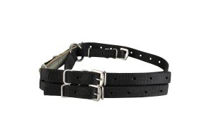 Kincade Nylon Anti-Grazing Straps Black