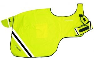Equisafety Ultimate Wrap Around Reflective Rug Yellow