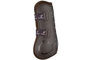 LeMieux Impact Responsive Tendon Boots Medium Brown