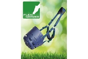 Shires Flexi Grazer Grazing Muzzle: Pony