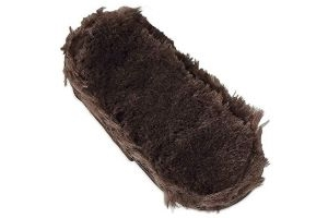 Shires SupaFleece Chin Guard 6 Inch Bit Accessory One Size Brown