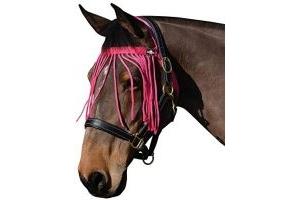 Saxon Fly Fringe Hot Pink Full