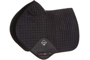 LeMieux ProSport Suede Close Contact Square Saddle Pad Black