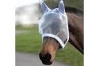 Saxon Fly Mask - White - Pony