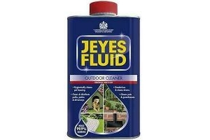 Jeyes Fluid Outdoor Cleaner & Disinfectant for Paths, Patios, 1 Litre Blue