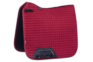 Lemieux Unisex's Dressage Suede Square Chilli Saddle Pad, Mulberry, Large