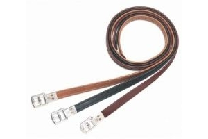 Bates Stirrup Leathers Classic Brown 63 inch/160cm