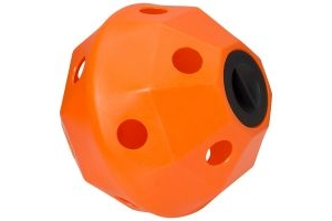 ProStable Hayball Small Holes Orange