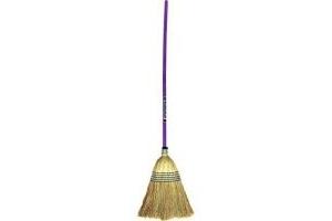 Red Gorilla - Corn Broom Large - Purple