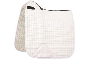 LeMieux ProSport Dressage Square (D-Ring) - White, X-Large