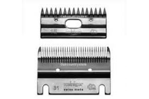 HEINIGER FINE BLADE SET FOR HORSE CLIPPERS 2 BLADES