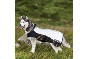 Horseware Rambo Sport Series Dog Rug Reflective Silver/Black