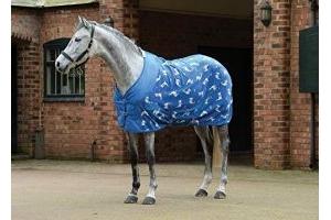 Weatherbeeta Fleece Cooler Standard Neck - Llama Print