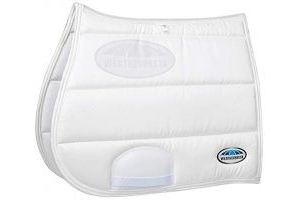 Weatherbeeta Elite All Purpose Saddle Pad (Full) (White)