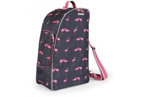 Shires Boot, Hat and Whip Bag Flamingo