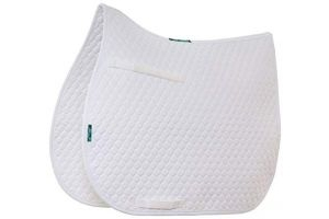 Griffin Nuumed HiWither Everyday Dressage Saddle Pad Medium White