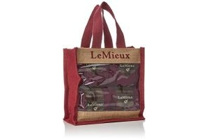 LeMieux Unisex's Heritage Polo Bandages Set of 4, Plum, Full