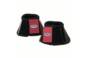 WeatherBeeta Impact Bell Boots Black/Maroon