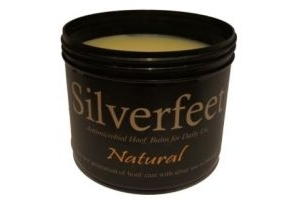 Silverfeet Silver Based Antimicrobial Horse Hoof Balm Natural x Size: 2.5 Lt
