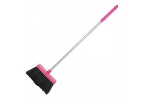 Faulks Red Gorilla Tubtrug Tidee Broom: Pink