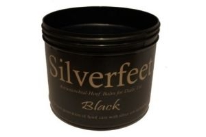 Silverfeet Silver Based Antimicrobial Horse Hoof Balm Black x Size: 2.5 Lt