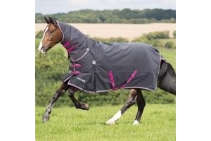 Shires Highlander Original 300 Combo Charcoal/Grey/Raspberry: 5 ft