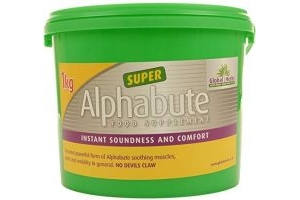 Global Herbs Unisex's Alphabute Super 1kg, Clear, 1 kg